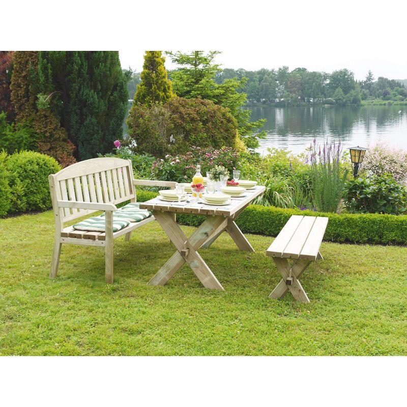 alwo gartenbank sitzbank 3 er sitzbank ohne lehne modell s3. Black Bedroom Furniture Sets. Home Design Ideas